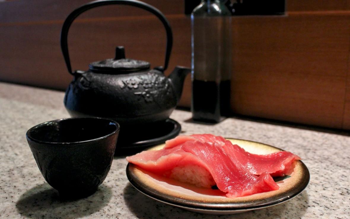 金枪鱼楠寿司 Fatty Tuna Nigiri