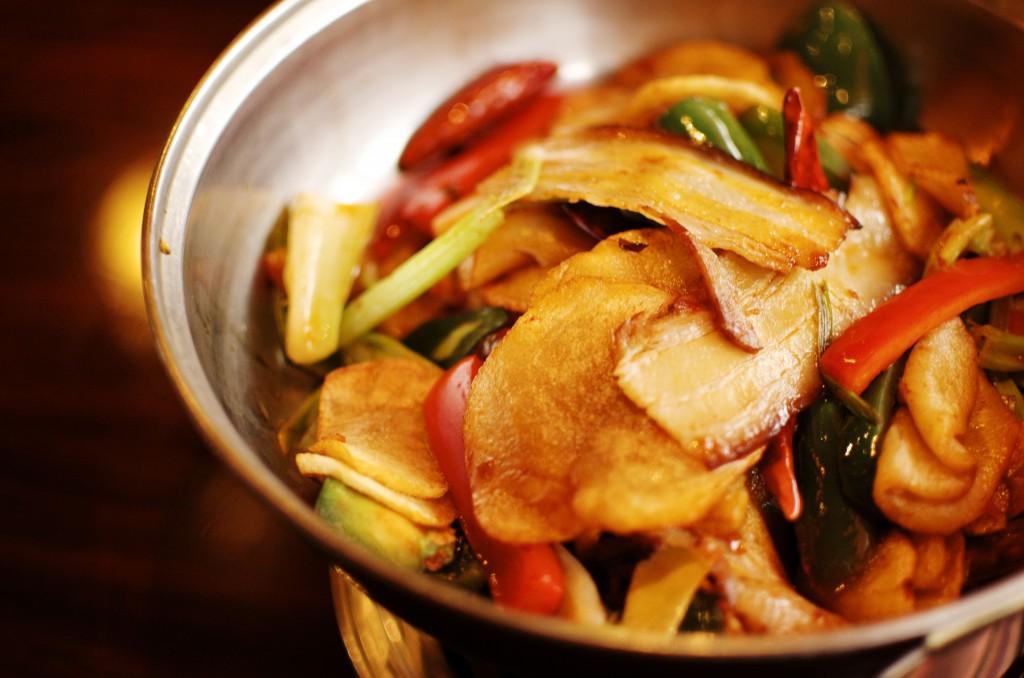 China First - 干锅五花肉土豆片