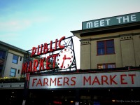 派克市場 & 水岸公園 Pike Place & Seattle Waterfront