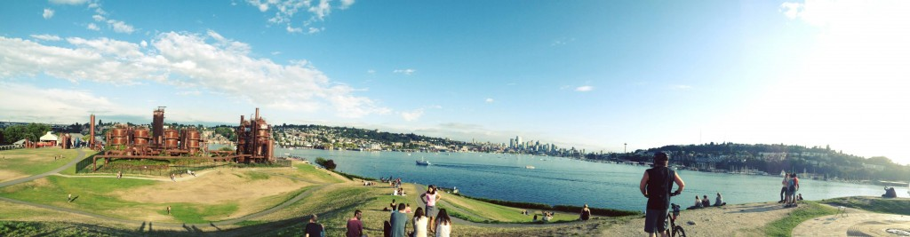 Gas Works Park ( photo credit:  SeattleGPS Instagram)