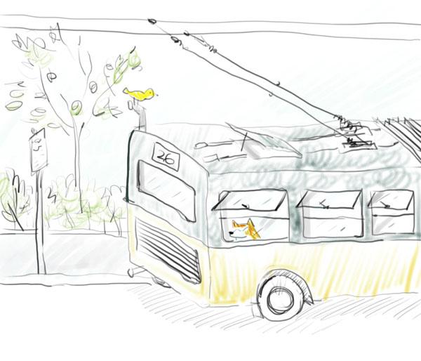 Seattle GPS - Michelle 关于上班的公交车