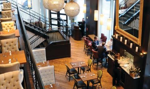 优雅的法兰西设计餐厅 Loulay
