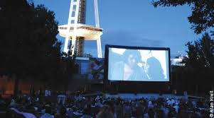Seattle Center Outdoor Movie