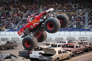 Monster Trucks on Friday at Spring Fair  - Credit Patrick Hagerty