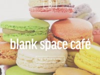 Blank Space Cafe 台式奶茶 x 法式马卡龙?