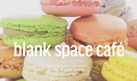 Blank Space Cafe 臺式奶茶 x 法式馬卡龍?