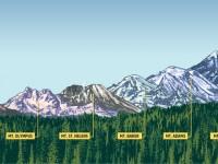 這個夏天 ,等你來征服的華州六座山!
