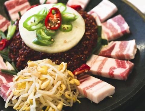 沒什麼是五花肉解決不了的 : Blue Ginger Korean Barbecue